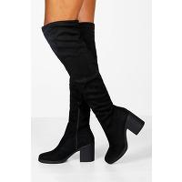 Bottes cuissardes Épaisses - noir - 36, noir