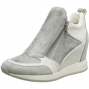 Geox d nydame e, sneakers basses femme, gris...