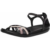 Ecco simpil, sandales plates femme, noir...