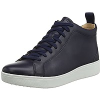 Fitflop rally high top sneaker leather, basket...